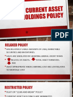 CA Holdings Policy