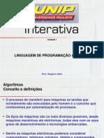 Linguagem de Programação Aplicada i