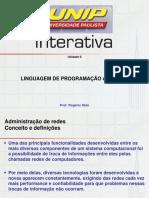 Linguagem de Programação Aplicada II
