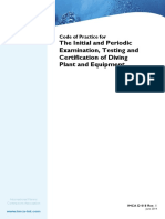 IMCAD018 - Code of Prectice for Inspection and Certification