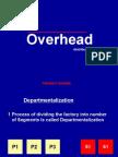 Overhead Distribution