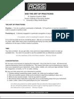 Zen and the art of Practicing