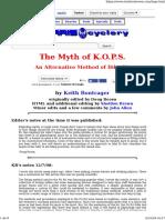 The Myth of KOPS Bike Fit