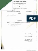 UOI Affidavit