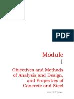 Objectives & Methods of Analysis & Design Concrete