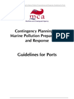 Contingency Planning for Marine Pollution Preparedness and Response