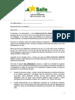 Carta Compromiso 2018 2019