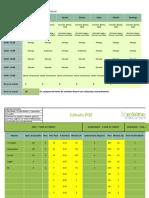 Planilha de Estudo Download