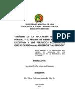 TESIS Avaluo Pericial y El Remate de Bienes en El Juicio Ejecutivo