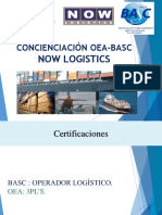 Concienciación Oea - Basc Now Logistics