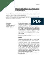 Articulo científico sobre el cultivo de Pleurotus