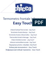 Thermometre Frontal Easy Touch Notice Dutilisation