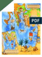 Mapa Viajes de Pablo