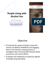 Patient Engement and People Living With Alcohol Use