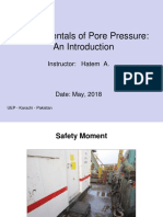 Pore Pressure