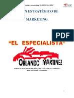 Marketing Especialista