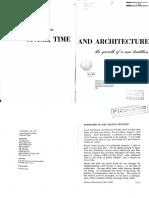Espacio, Tiempo y Arquitectura - Sigfried Giedion