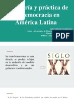 Teoría y Práctica de La Democracia