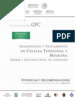 Cefalea Tensional y Migraña - Mexico 2016