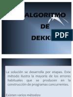 ALGORITMO DE DEKKER