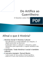 Do Artífice Ao Guerrilheiro