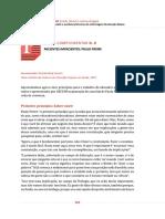 Ceccin - Paulo Freire - Caminhos do Cuidado