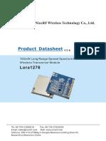 LORA1276-100mW Long Range Spread Spectrum Modulation Wireless Transceiver Module V2.0-31dd33cd-131e-46fc-Be69-Dc37a2afe9fe