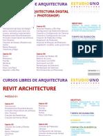 Lista de cursos en PPT