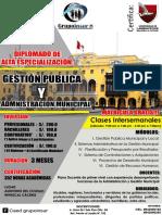 Gestion Municipal 2018