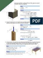 Mecanica de Materiales Problemrio #1 #2