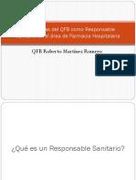 Experiencias Del QFB Como Responsable Sanitario