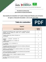 Tabla de Contenidos Ingreso 2017 PDF