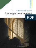 Emmanuel Moses - Les Anges Nous Jugeront
