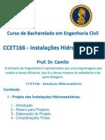Aula 2- CCET166 - InstHidrossanitarias - S2018-0914 - Unid I - Projetos