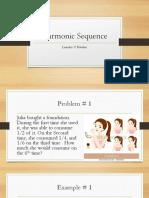 Harmonic Sequence