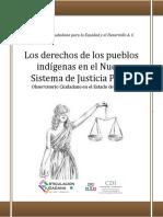 Derechos Nuevo Sistema Justicia Penal