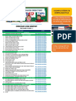 Curriculum Guide Directory
