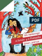 Un Homenaje a Simon y a Manuela Amor Patrio