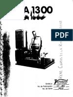 Centrifugadora Veronesi MA1300