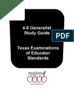4-8 Generalist Book