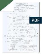 Examen de Supletorio Matematicas II