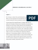 Glosario MÍnimo de CategorÍas de La LecciÓn 2