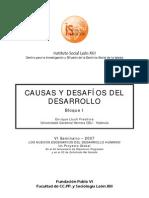 Informe Desarrollo
