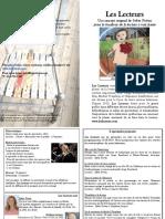 Lecteurs Feuillet 8x11 Biblio