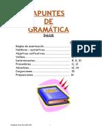 Apuntes de Gramatica