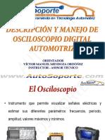 Descripción y manejo de osciloscópio digital