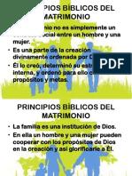 principios bíblicos del matrimonio