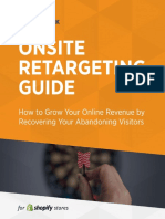 Onsite Retargeting Guide for Shopify