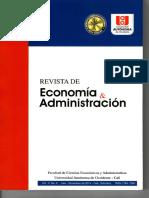 (2014) Hernández y Medina_ Diagnóstico Sobre La Trayectoria de Crecimiento Industria Del Valle