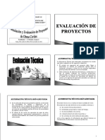 Evaluación de Proyectos PRINT ESAM